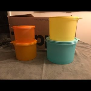 Stacking Canister Set